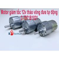 Motor Giảm tốc 12v tháo võng đưa tự động