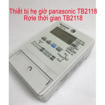 Thiết Bị Hẹn Giờ panasonic TB2118 / Rơ le thời gian TB2118 cũ
