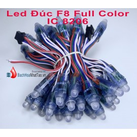 Led Đúc F8 Full Color IC 8206 Auto