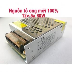 Nguồn tổ ong 12V 5A 60W mới 100%
