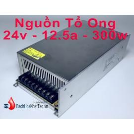 Nguồn tổ ong  24V-12,5A -300w quạt