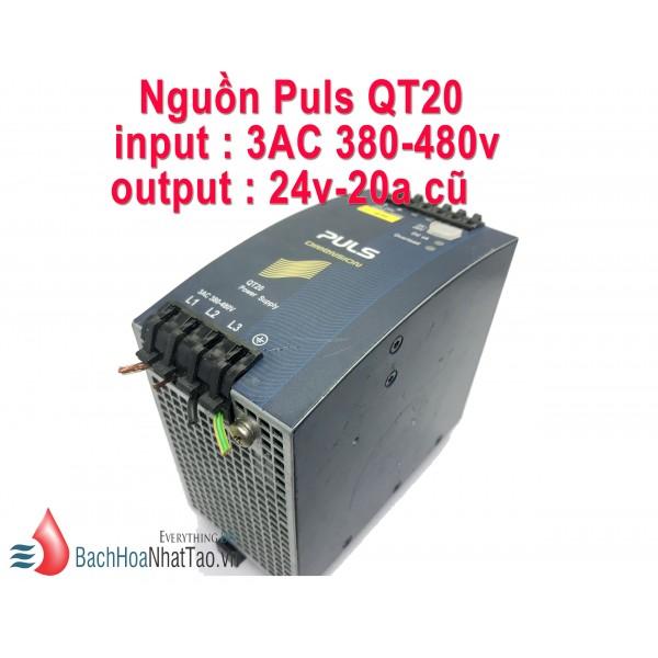 Nguồn Puls QT20 24v-20a cũ