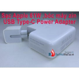 Sạc Apple 61W bóc máy zin - USB Type-C Power Adapter