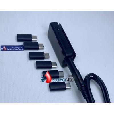 Đầu chuyển cáp sạc micro USB Sang type C – jack chuyển type C