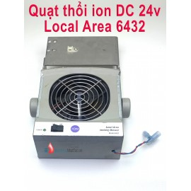 Quạt thổi ion Local Are DC 24v cũ