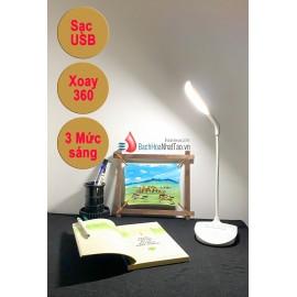 Đèn bàn led sạc SSL-001 tiện dụng