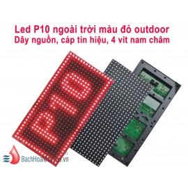 Led P10 ngoài trời màu đỏ Outdoor SMD