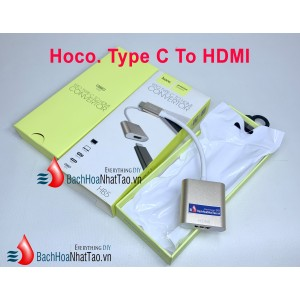 HOCO HB5 Type-C Male to HDMI