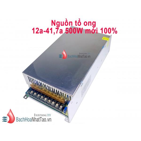 Nguồn tổ ong 12V-41.7A-500W mới 100%
