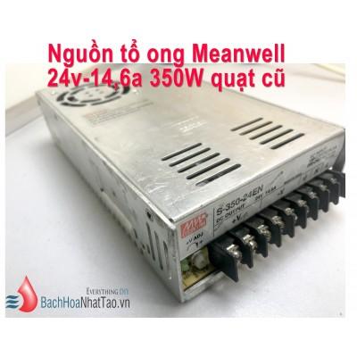 Nguồn tổ ong Meanwell 24V 14.6a Quạt