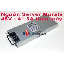 Nguồn Server Murata 48v - 41.3a tháo máy đã kích