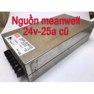 Nguồn  Meanwell 24V 25A 600W cũ